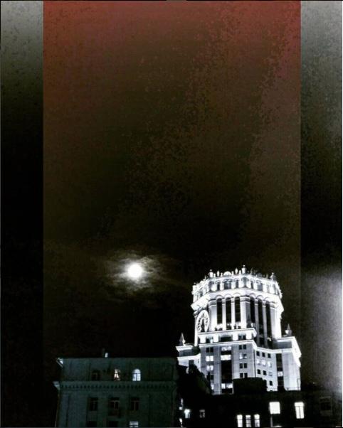 Суперлуние в России, Москва. Фото Скриншот instagram.com/frenkytlen/?hl=ru