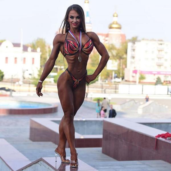 Светлана Фискова. Фото Скриншот Instagram: fiskova_svetlana_ifbb