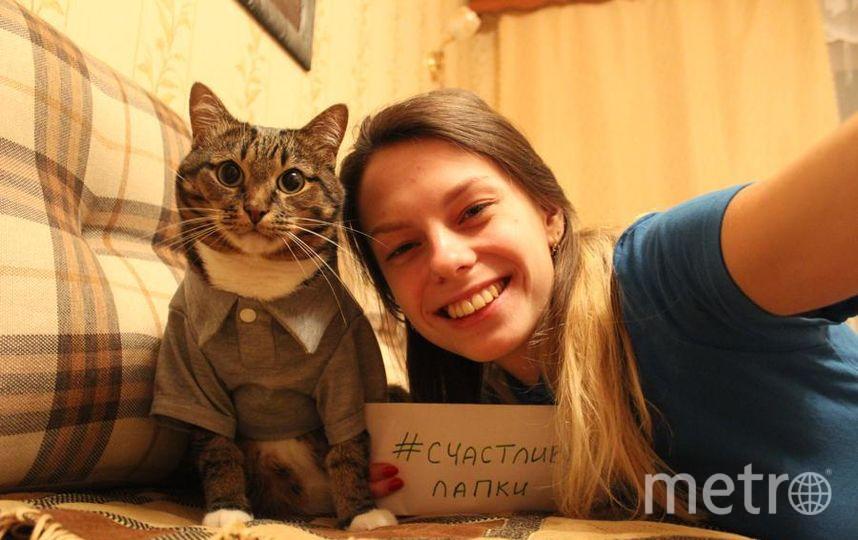 Лукиных Наталья и кот Маркиз.