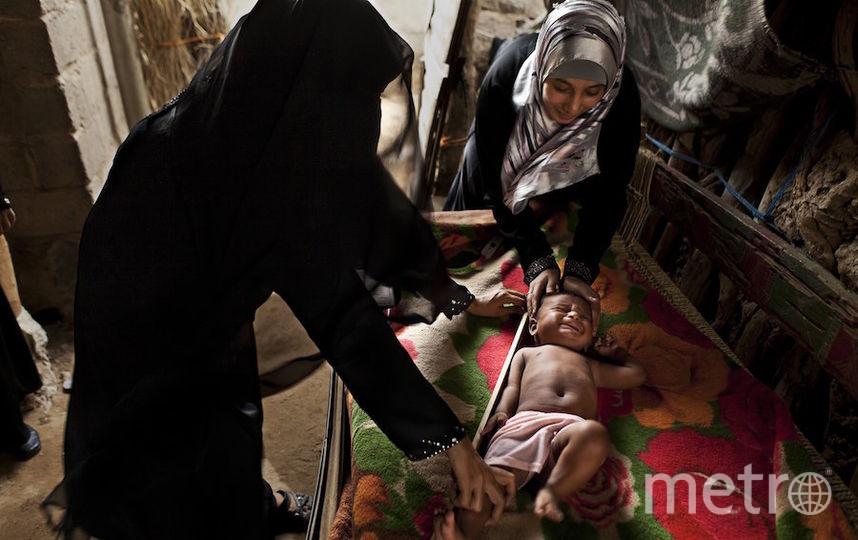 Каждые 10 минут умирает один ребёнок. Фото Getty