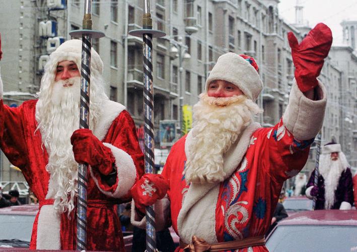 В Петербурге отметили Всемирный день писем Деду Морозу. Фото Архивное фото.
