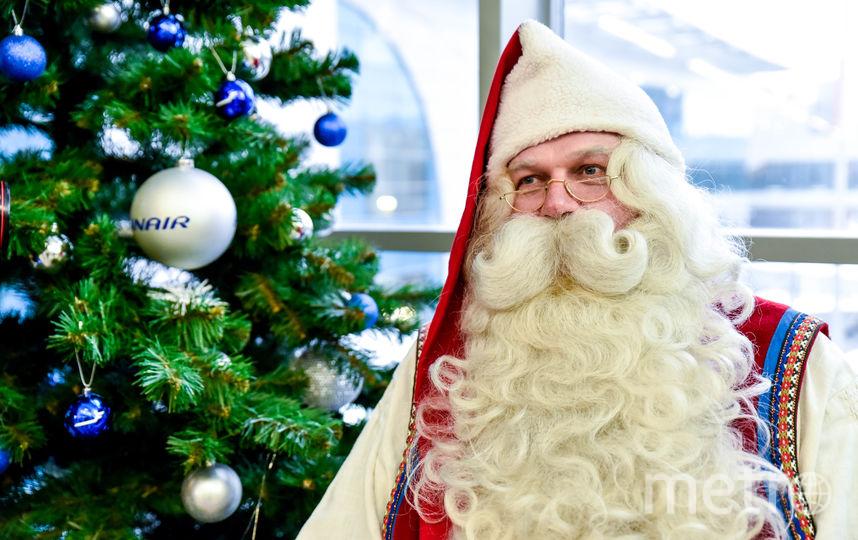 Санта-Клаус собирается рассказать горожанам о своей резиденции в Лапландии и о новогодних традициях Финляндии. Фото Предоставлено организаторами