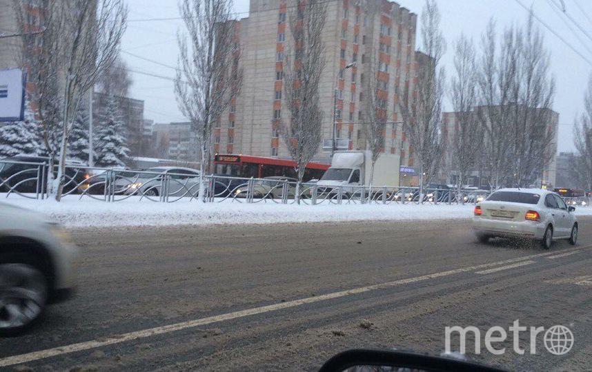 Пробки. Фото Metro