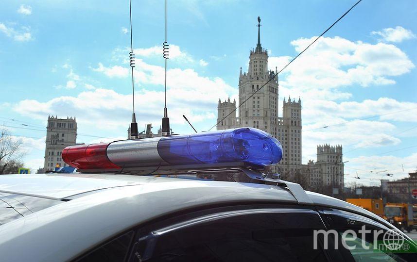 Полиция в Москве ищет стрелявших из пневматики по окнам жилых домов. Фото Василий Кузьмичёнок