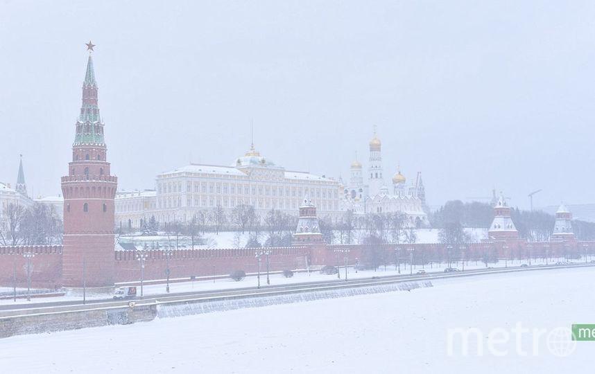 Сугробы в столице России достигнут 15см, давление будет низким