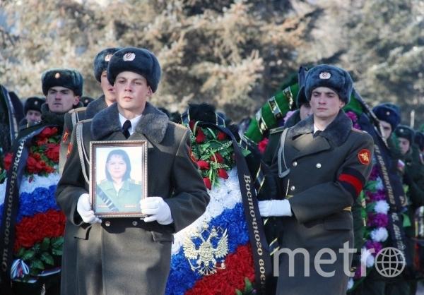 Похоронная процессия по погибшим. Фото РИА Новости