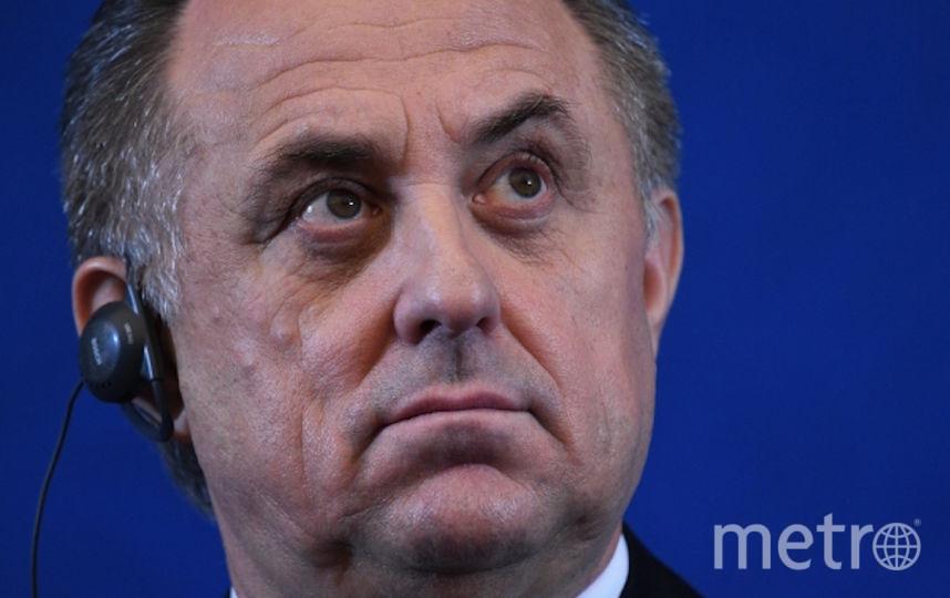 Виталий Мутко отстранён от участия в Олимпиадах. Фото РИА Новости