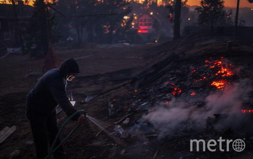 Пожары в Калифорнии бушуют с 5 декабря. Фото Getty