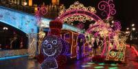 Москва засияла миллионами фонариков