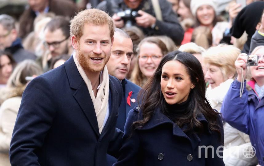 Принц Гарри и Меган Маркл. Фото Getty