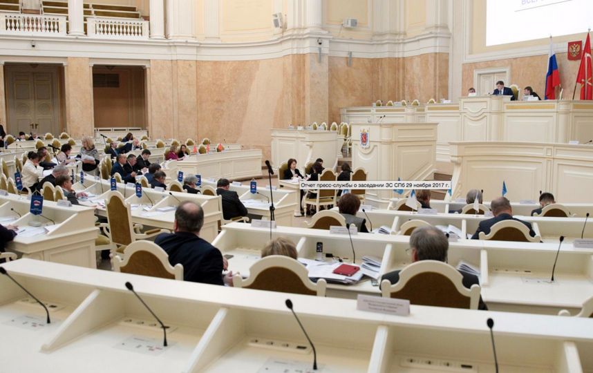 Думская стала камнем преткновения: депутаты разделились во мнении. Фото http://www.assembly.spb.ru/