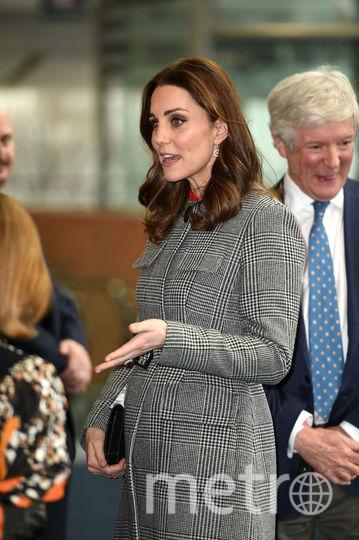 Кейт Миддлтон в Манчестере. Фото Getty