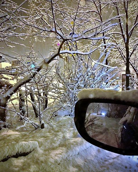 Заснеженный Санкт-Петербург. Фото Скриншот Instagram: @prosto_irrka