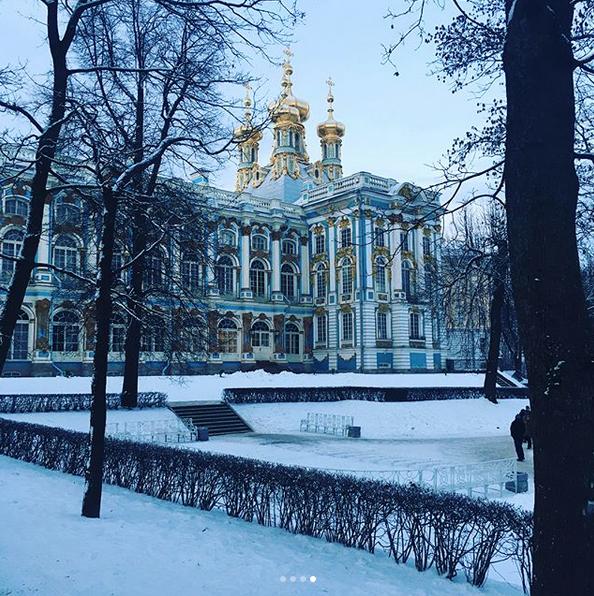 Заснеженный Санкт-Петербург. Фото Скриншот Instagram: @wdysamm
