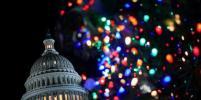 Ёлку у Капитолия в Вашингтоне зажёг 11-летний мальчик: фото