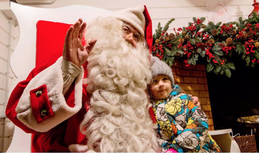 Санта-Клаус из Лапландии приедет в Москву. Фото mos.ru
