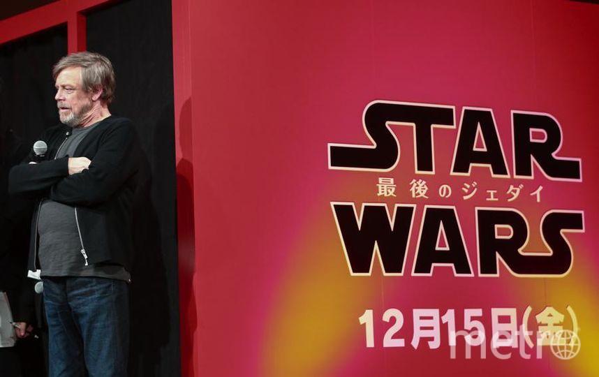 """Команда """"Звездных войн"""" отправилась в мировое турне. Марк Хэмилл. Фото Getty"""