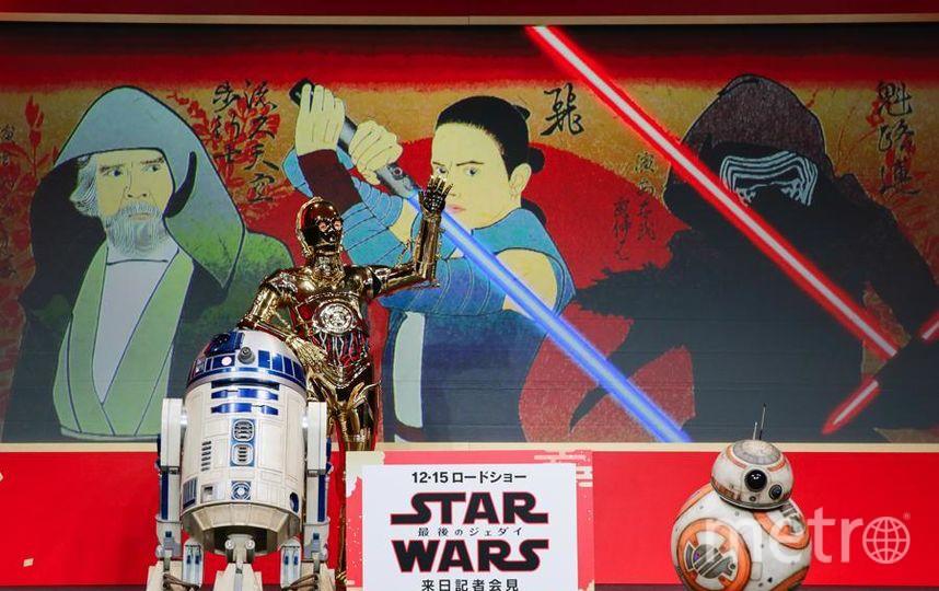 """Команда """"Звездных войн"""" отправилась в мировое турне. Фото Getty"""