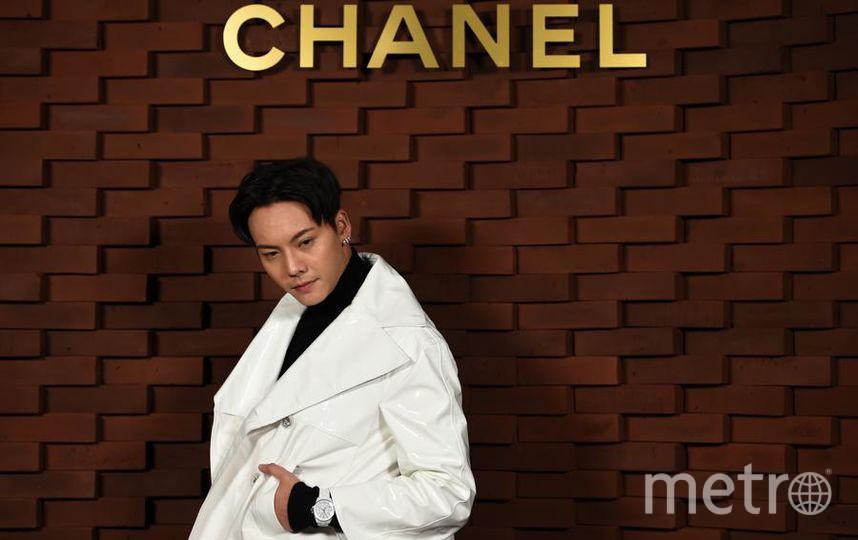 Показ новой коллекции Chanel. Вильям Чан. Фото Getty