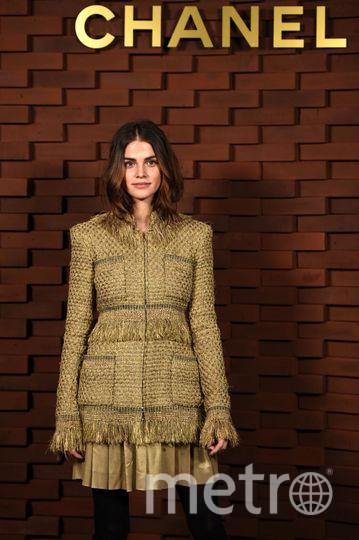 Показ новой коллекции Chanel. Лиза Томашевски. Фото Getty