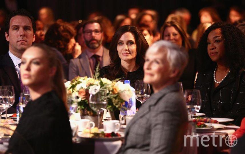 Анджелина Джоли в Лос-Анджелесе. Фото Getty