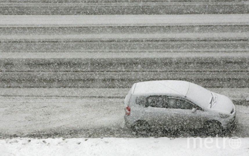 Снегопады обрушились на город. Фото Getty