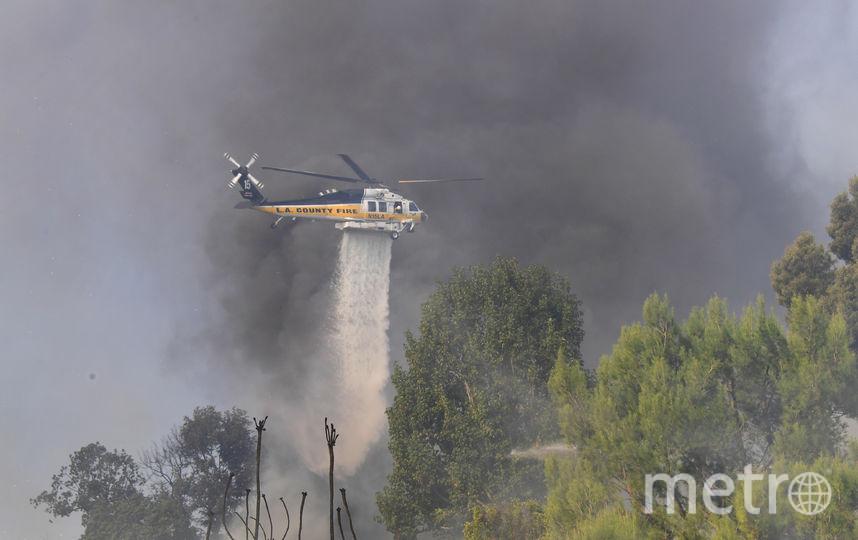 Власти Лос-Анджелеса установили самый высокий уровень опасности в истории округа. Фото AFP