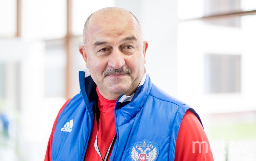 Главный тренер сборной России Станислав Черчесов