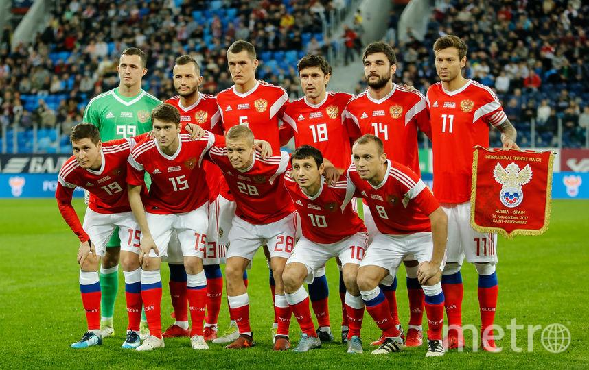 Сборная РФ  пофутболу проведет товарищеский матч сФранцией