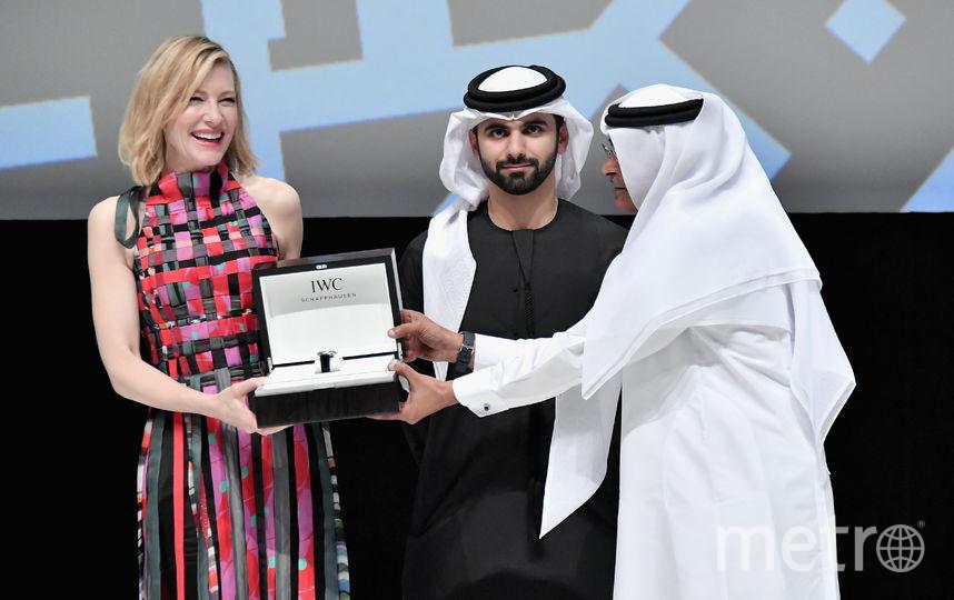 Кейт Бланшетт в Дубае. Фото Getty