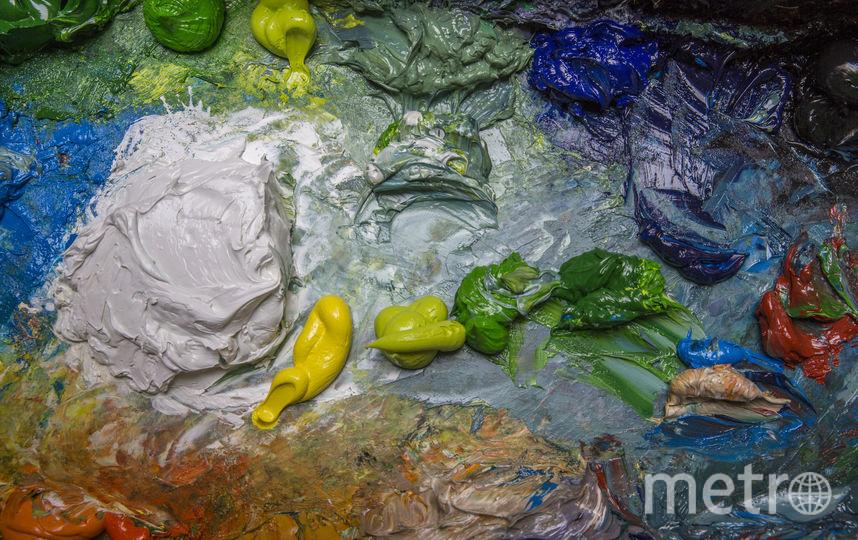 Масляные краски. Фото Getty