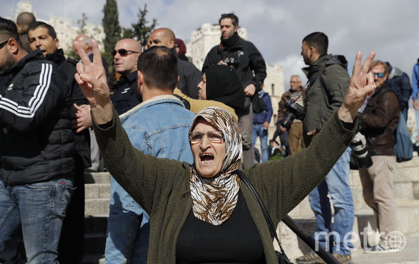 Столкновения в Секторе Газа. Фото AFP