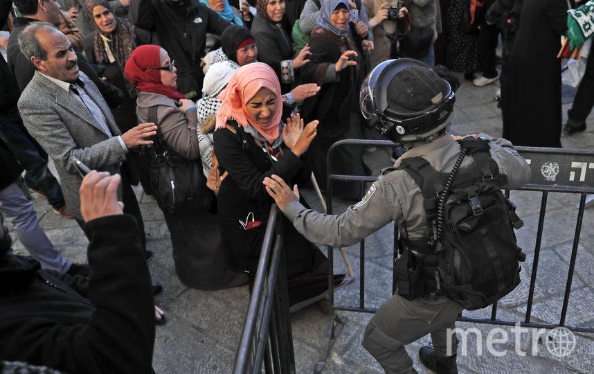 Столкновения в Иерусалиме. Фото AFP