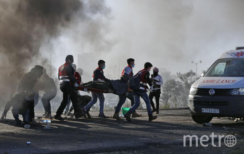 На западном берегу реки Иордан тоже неспокойно. Фото AFP