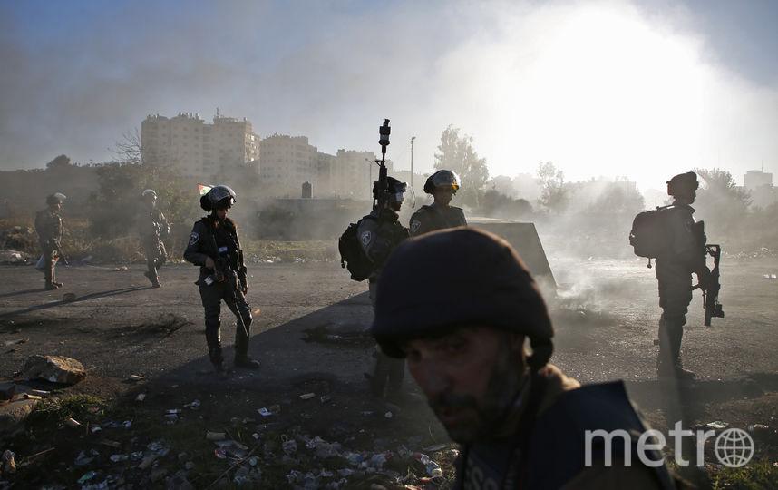 Военные в Секторе Газа. Фото AFP