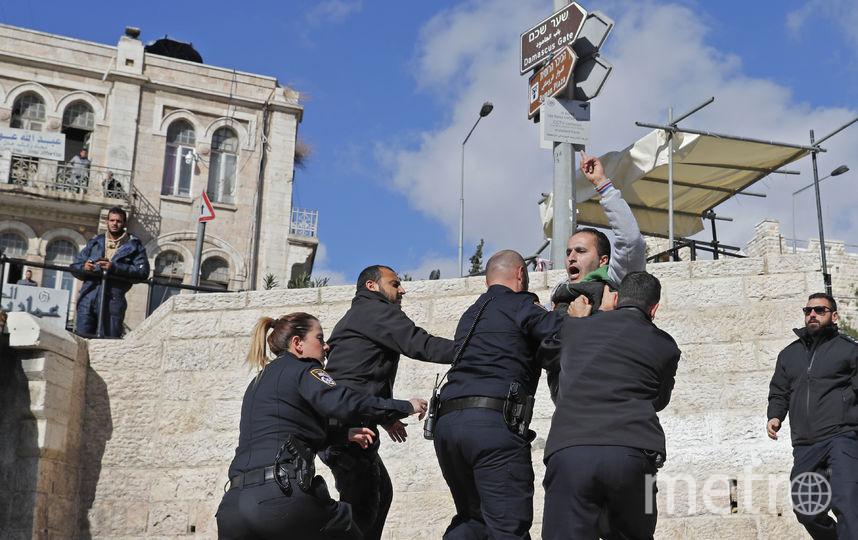 Беспорядки. Фото AFP