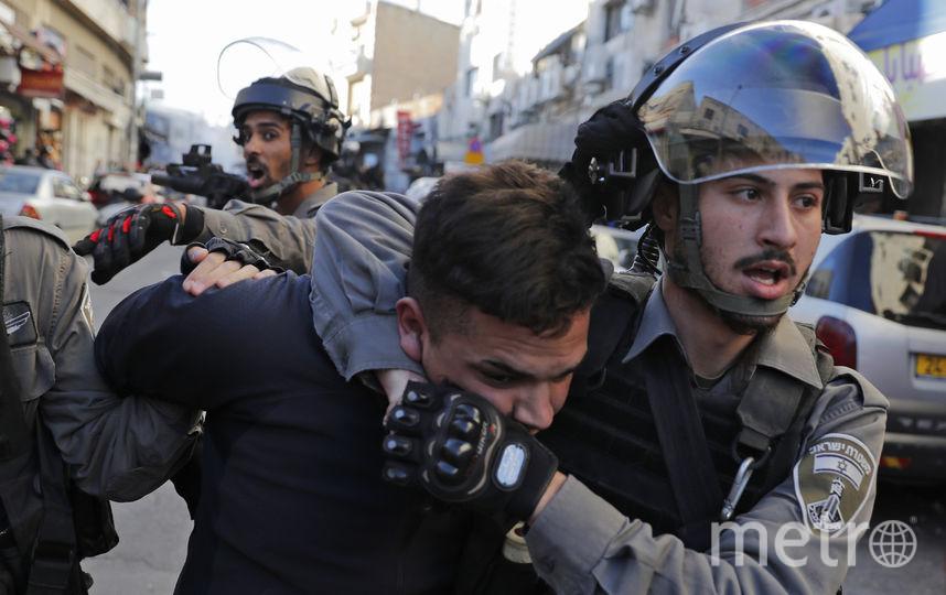 Протесты в Иерусалиме. Фото AFP