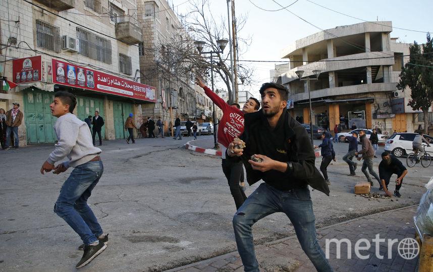 Протесты в Рамалле. Фото AFP