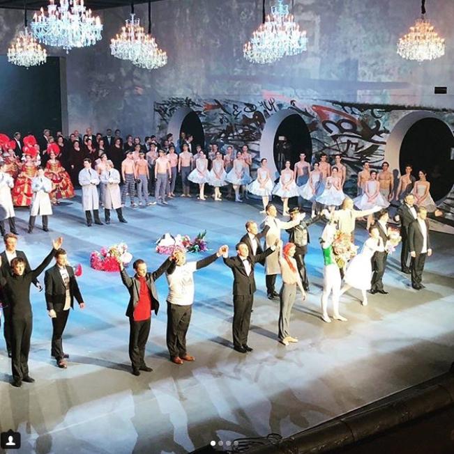 """Премьера спектакля """"Нуреев"""". Фото Instagram @boldachev"""