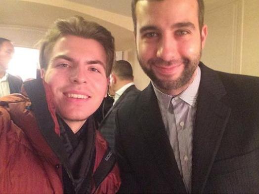 Телеведущий Иван Ургант на премьере в Большом театре. Фото Instagram @amelin.n