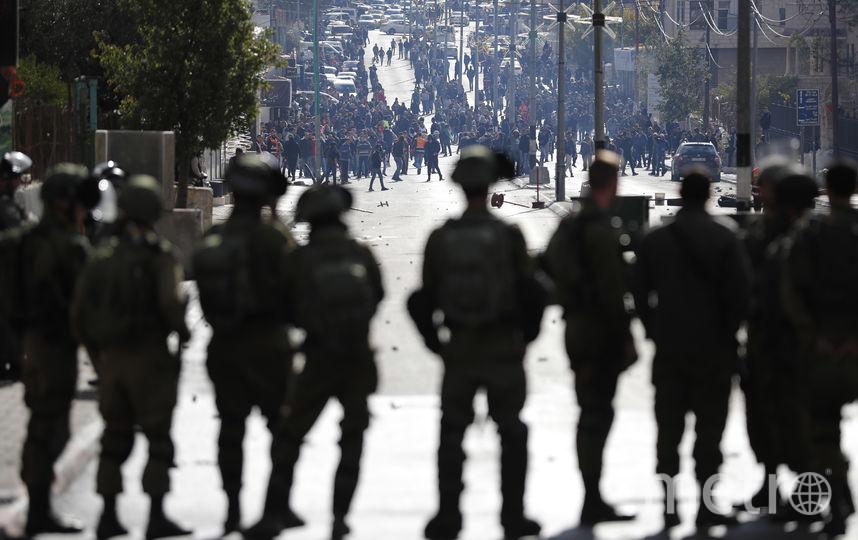 Беспорядки в Вифлееме. Фото AFP