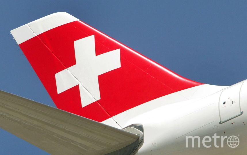 Самолет авиакомпании SWISS. Фото Getty