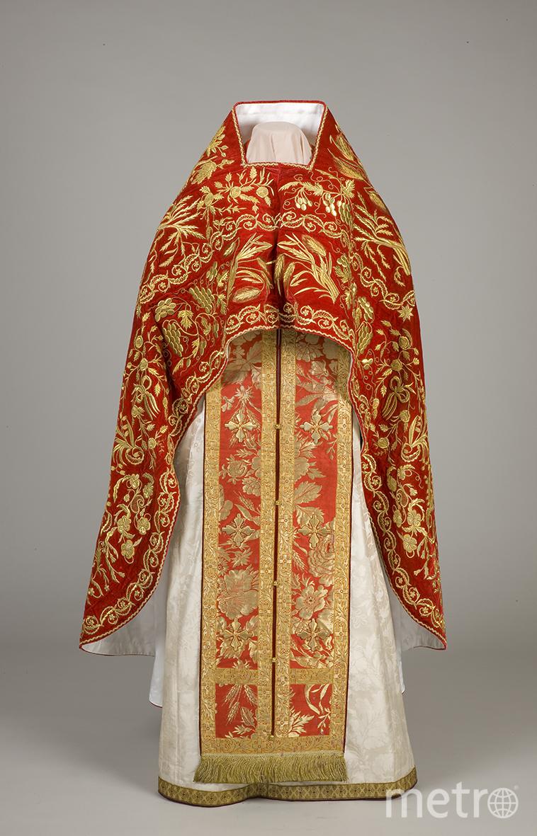 Эрмитаж открыл хранилище костюмов: от облачения священников до ливрейных костюмов. Фото все фото предоставлены пресс-службой Эрмитажа.