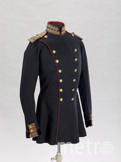 Мундир двубортный офицерский; принадлежал Александру II. 1855 год. Фото все фото предоставлены пресс-службой Эрмитажа.