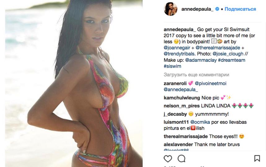 Энни ди Пауло - фотоархив. Фото Скриншот  www.instagram.com/annedepaula_/