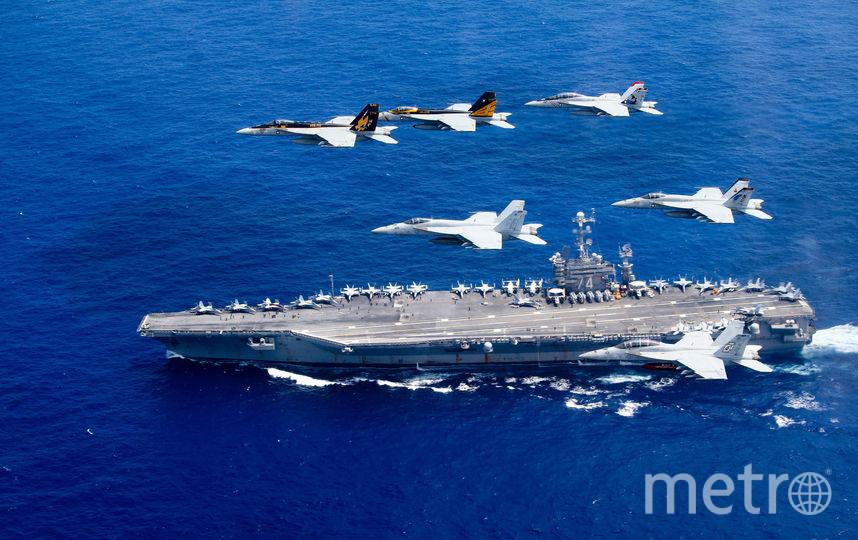 Военно-морские силы США. Фото Getty
