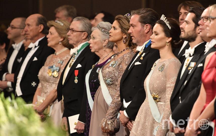Торжественная церемония вручения лауреатам Нобелевской премии. Фото AFP