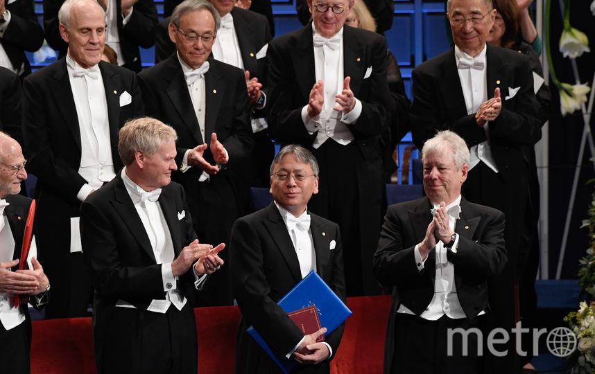 Обладатель Нобелевской премии по литературе Кадзуо Исигуро. Фото AFP