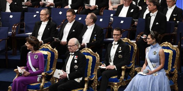 Королева Швеции Сильвия, король Карл XVI Густав, наследная принцесса Виктория, принц Даниэль.