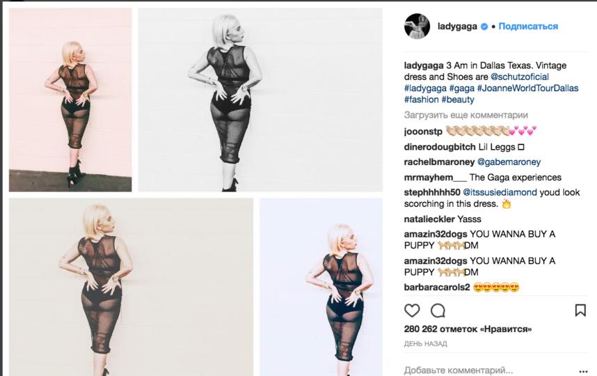 Леди Гага. Фото instagram.com/ladygaga